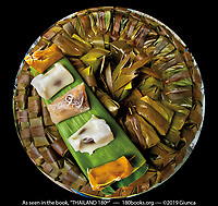 Banana Leaf Wrapped Thai Desserts