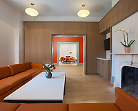 Architectural Interior Image of Fay House Dorm on Campus of Gallaudet University in Washington DC by Jeffrey Sauers of Commercial Photographics