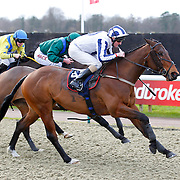 Standing Strong and L P Keniry winning the 2.00 race
