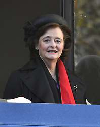 Cherie Blair beim Remembrance Sunday in London / 131116 *** Remembrance Sunday, London, 13 Nov 2016 ***