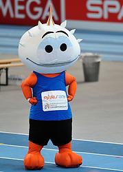 06-03-2011 ATHELETICS: EUROPEAN ATHLETICS INDOOR CHAMPIONSHIPS: PARIS<br /> Mascotte EC Indoor<br /> ©2011-WWW.FOTOHOOGENDOORN.NL