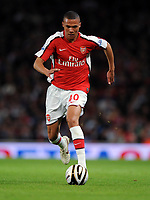 Kieran Gibbs<br /> Arsenal 2008/09<br /> Arsenal V Sheffield United (6-0) 23/09/08<br /> The Carling Cup<br /> Photo Robin Parker Fotosports International