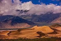 Samye Sand dunes, Chatang, Lhoka (Shannan) Prefecture, Tibet (Xizang), China