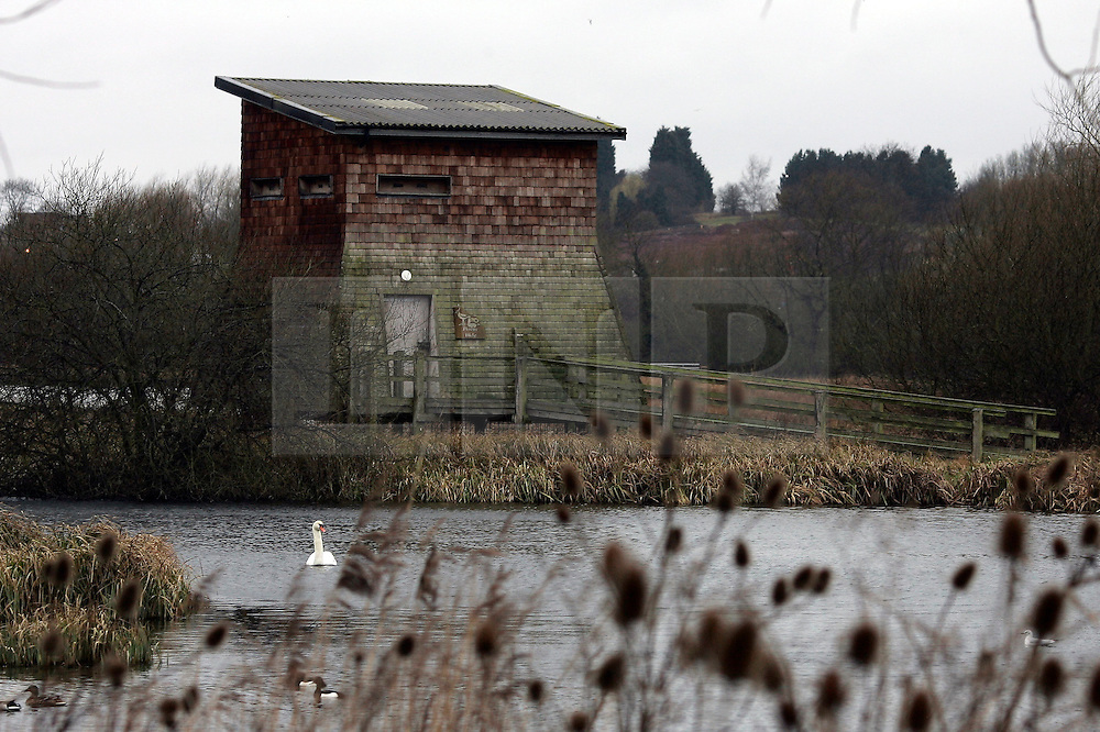 ©under license to London News Pictures. 13/01/2011. Leicester. The body of the man, 32, was found at Watermead Country Park, Leicestershire today (Sun) The body was thought to be found in the pictured building. A man, a woman and two children who are all thought to be members of the same family have been found dead..The body of the man, 32, was found at Watermead Country Park, Leicestershire, on Friday evening. Police said the bodies of a 24-year-old woman, a three-year-old boy and a girl, aged two, were found at a property in Jersey Road, Leicester, on Saturday afternoon. photo credit should be read as: Michael Zemanek / LNP
