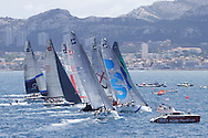 FRANCE, Marseille, AUDI MedCup, 16th June 2010,  Marseille Trophy, TP52 Start.