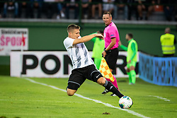 Klemen Šturm of NS Mura during Football match between NS Mura (SLO) and Maccabi Haifa (IZR) in First qualifying round of UEFA Europa League 2019/20, on July 18, 2019, in Stadium Fazanerija, Murska Sobota, Slovenia. Photo by Blaž Weindorfer / Sportida
