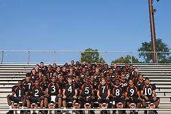 2008 Charlottesville High School Black Knights football team, Charlottesville HS, Charlottesville, Virginia, August 21, 2008.
