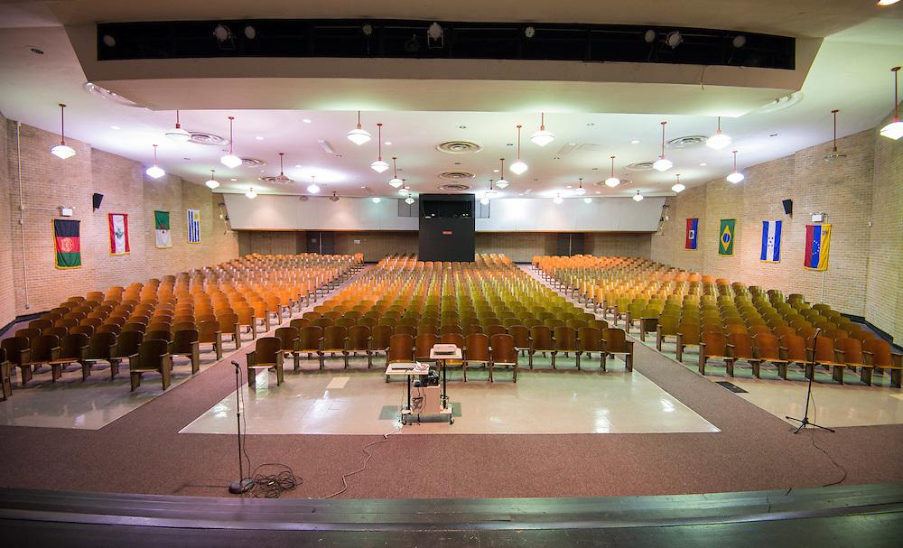 The current Lee High School auditorium.
