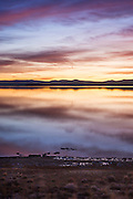 Sunrise on Mono Lake California
