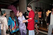 Tatler magazine's  pyjama party sponsored by Thomas Pink. Claridge's. London. 7 July 2011.<br /> <br />  , -DO NOT ARCHIVE-© Copyright Photograph by Dafydd Jones. 248 Clapham Rd. London SW9 0PZ. Tel 0207 820 0771. www.dafjones.com.