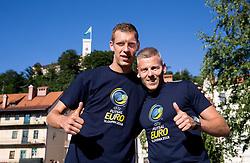 Promotional event 218 days before UEFA Futsal EURO Slovenia 2018, on June 26, 2017 in Ljubljana, Slovenia. Photo by Vid Ponikvar / Sportida