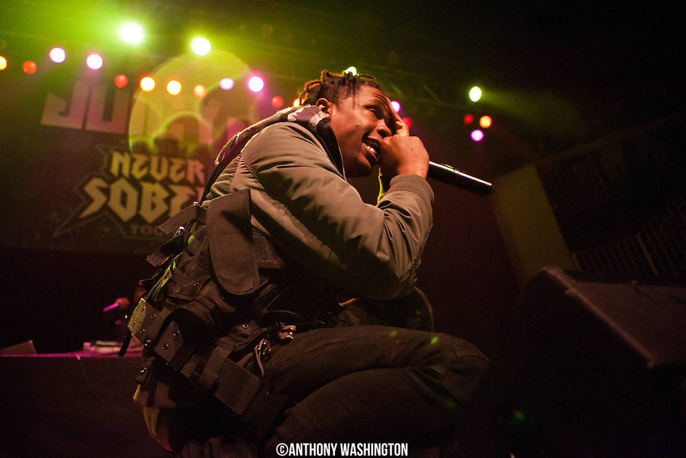 Travis Scott performs at Rams Head Live on Tuesday, March 4, 2014 in Baltimore, MD.