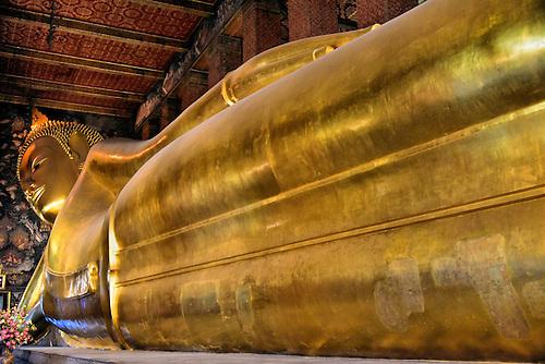 Horizontal View Reclining Buddha at Wat Pho of in Bangkok Thailand u003cbr /u003e & Horizontal View Reclining Buddha at Wat Pho of in Bangkok ... islam-shia.org