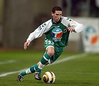 Fotball<br /> Frankrike 2004/05<br /> Ligacup<br /> Sedan v Monaco<br /> 9. november 2004<br /> Foto: Digitalsport<br /> NORWAY ONLY<br /> MORGAN AMALFITANO (SED)