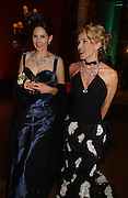 the Marchioness of Normanby; Daphne Guinness, Belle Epoche gala fundraising dinner. National Gallery. 16 March 2006. ONE TIME USE ONLY - DO NOT ARCHIVE  © Copyright Photograph by Dafydd Jones 66 Stockwell Park Rd. London SW9 0DA Tel 020 7733 0108 www.dafjones.com