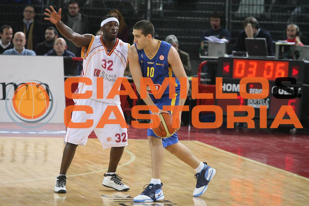 DESCRIZIONE : Roma Eurolega 2006-07 Lottomatica Virtus Roma Maccabi Tel Aviv <br /> GIOCATORE : Burstein <br /> SQUADRA : Maccabi Tel Aviv <br /> EVENTO : Eurolega 2006-2007 <br /> GARA : Lottomatica Virtus Roma Maccabi Tel Aviv <br /> DATA : 04/01/2007 <br /> CATEGORIA : <br /> SPORT : Pallacanestro <br /> AUTORE : Agenzia Ciamillo-Castoria/G.Ciamillo
