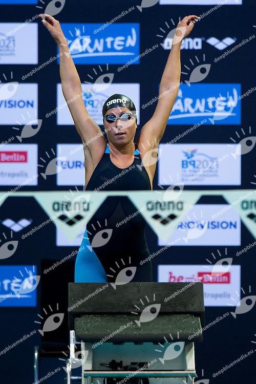 Stefania Pirozzi Italy ITA<br /> 400 Medley Women Heat<br /> 32nd LEN European Championships <br /> Berlin, Germany 2014  Aug.13 th - Aug. 24 th<br /> Day06 - Aug. 18<br /> Photo A.Masini/Deepbluemedia/Inside