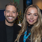 NLD/Amsterdam/20191206 - Sky Radio's Christmas Tree For Charity 2019, Rolf Sanchez en Emma Heesters
