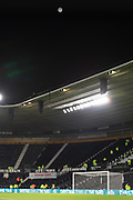 Full Moon at Pride Park before the EFL Sky Bet Championship match between Derby County and Sheffield Wednesday at the Pride Park, Derby, England on 11 December 2019.