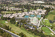 Marbella Country Club in San Juan Capistrano Aerial Stock Photo