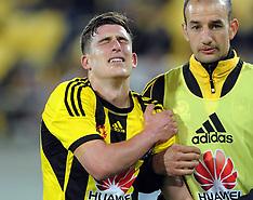Wellington-Football, A-League, Phoenix v West Sydney Wanderers Oct 07