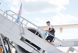 October 8, 2017 - Port Of Spain, Trinidad and Tobago - Port of Spain, Sunday, October 8, 2017: USMNT players depart for Port of Spain for their World Cup Qualifying match with Trinidad and Tobago. (Credit Image: © John Todd/ISIPhotos via ZUMA Wire)