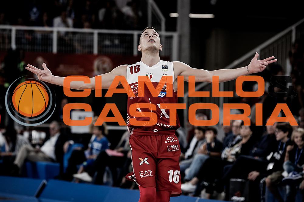 Nemanja Nedovic<br /> A   X Armani Exchange Milano - Leonessa Germani Brescia<br /> LBA Lega Basket Serie A<br /> Zurich Connect Supercoppa 2018<br /> Brescia, 29/09/2018<br /> Foto MarcoBrondi / Ciamillo-Castoria