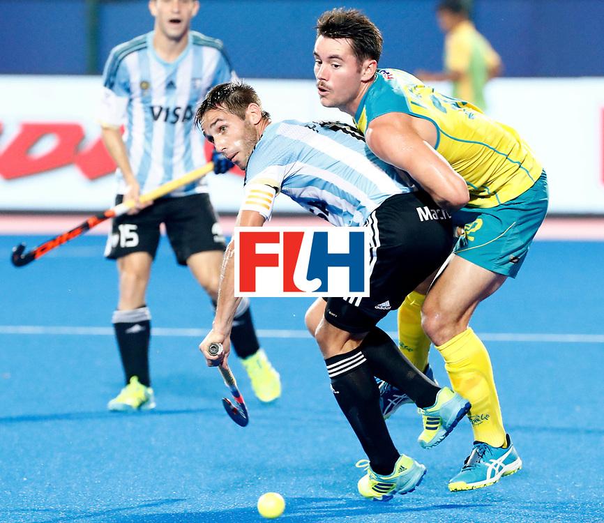 Odisha Men's Hockey World League Final Bhubaneswar 2017<br /> Match id:22<br /> Argentina v Australia<br /> Foto: Matias Paredes (Arg) <br /> WORLDSPORTPICS COPYRIGHT KOEN SUYK