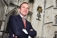 Solicitor outside The Royal Courts of Justice<br />