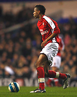 Kyle Bartley of Arsenal Youth  Tottenham Hotspur Youth Vs  Arsenal Youth at White Hart Lane London F.A. Youth Cup Sixth Round<br /> 05/03/2009. Credit Colorsport  / Kieran Galvin