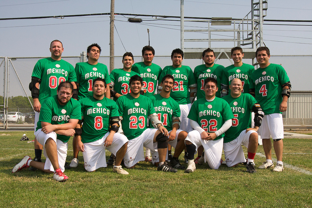 Mexican National Team's first game vs Palo Alto Lacrosse Club