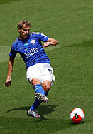 Marc Albrighton of Leicester City during the Premier League match at Vicarage Road, Watford. Picture date: 20th June 2020. Picture credit should read: Darren Staples/Sportimage