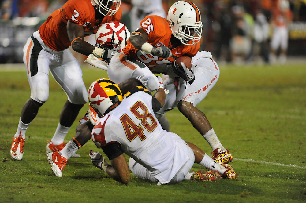 2011 Miami Hurricanes Football @ Maryland<br /> <br /> Phillip Dorsett