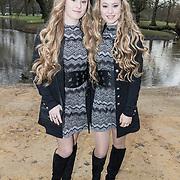 NLD/Amsterdam/20171218 - Musical Awards nominatielunch 2018, Mylène en Rosanne Waalewijn