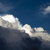 Stormclouds over the Sangre de Cristos.