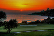 Monarch Beach Golf Links at Sunset