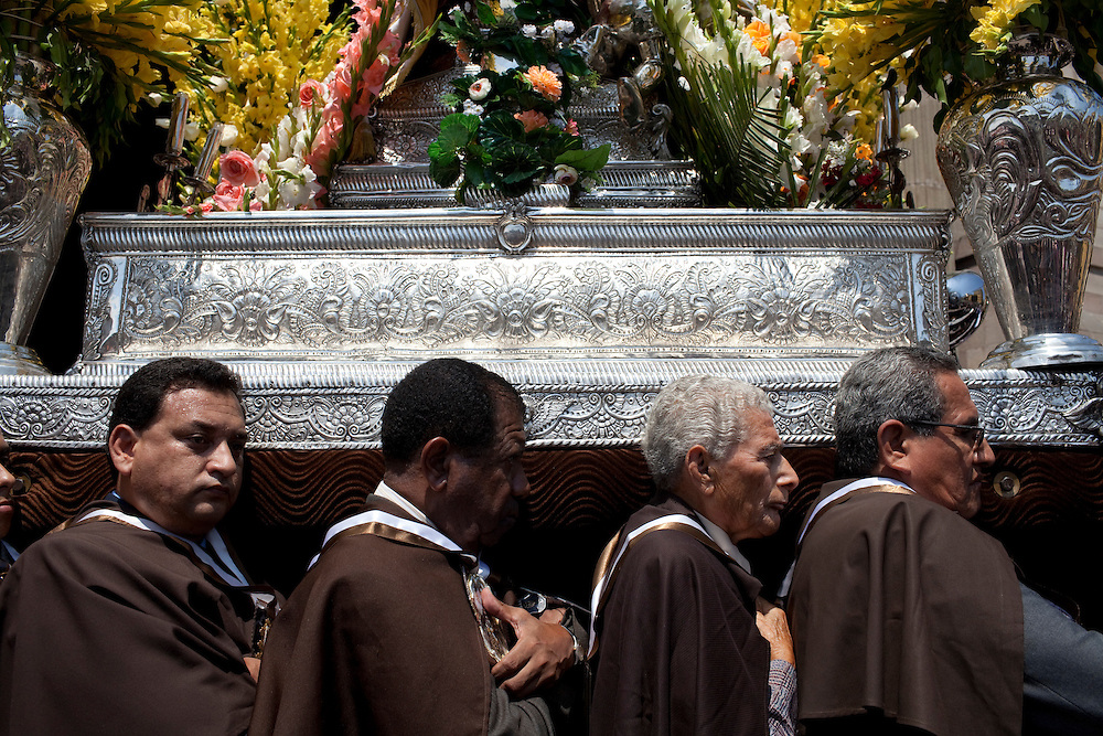 An Easter ceremony on Sunday, Apr. 12, 2009 in Lima, Peru.