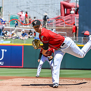 Las Vegas vs El Paso during Jackie Robinson Day, Southwest University Park, April 15, 2018, Andres Acosta / El Paso Herald-Post