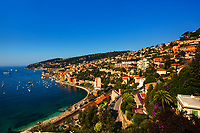 beautiful village of villefranche sur mer on the french riviera france  cote d'azur