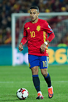 Spain's Thiago Alcantara  during the match of European qualifying round between Spain and Macedonia at Nuevo Los Carmenes Stadium in Granada, Spain. November 12, 2016. (ALTERPHOTOS/Rodrigo Jimenez)