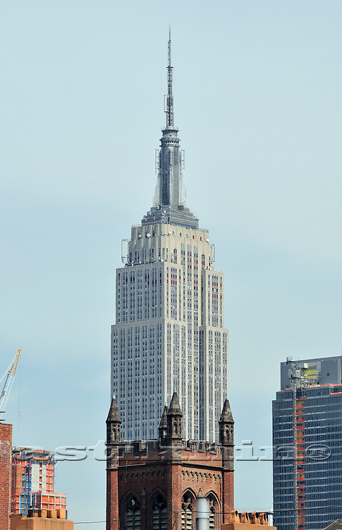 Chapel and Empire State Building