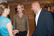 HERMIONE NORRIS; SIMON WHEELER; , Maggie's autumn fundraiser in aid of the Cancer charity. .  Phillips de Pury & Company, 9 Howick Place, London <br /> www.maggiescentres.org. 27 September 2010. <br /> <br /> -DO NOT ARCHIVE-© Copyright Photograph by Dafydd Jones. 248 Clapham Rd. London SW9 0PZ. Tel 0207 820 0771. www.dafjones.com.
