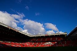 MANCHESTER, ENGLAND - Sunday, October 28, 2018: A general view of Old Trafford before the FA Premier League match between Manchester United FC and Everton FC at Old Trafford. (Pic by David Rawcliffe/Propaganda)