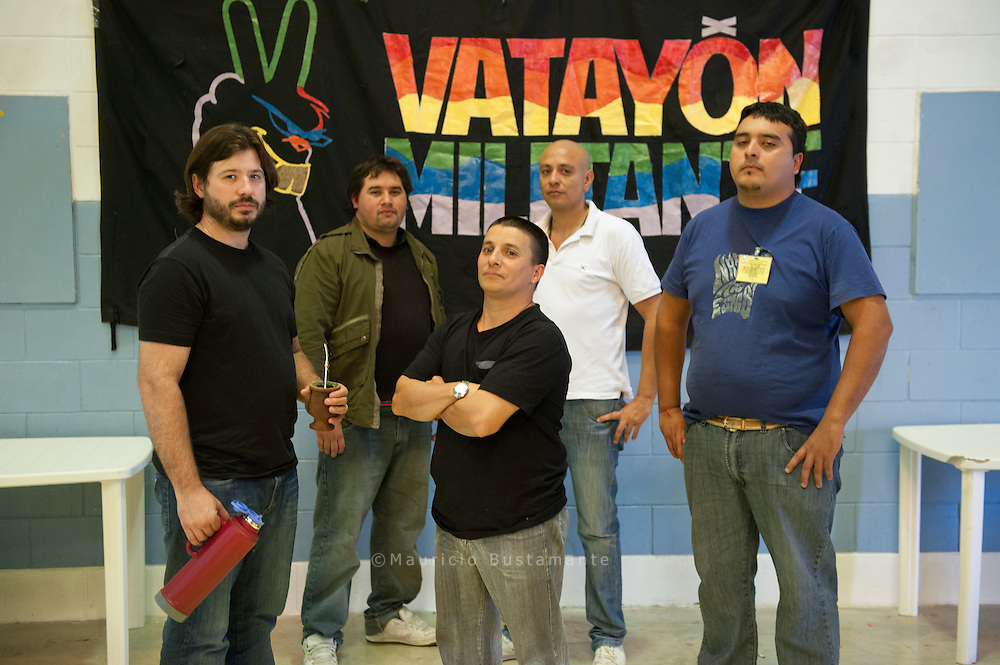 Talleres y encuentros culturales que da Vatayón Militante, una agrupación política que trabaja en penales de Buenos Aires