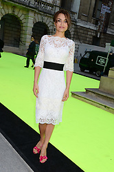 SAMANTHA BARKS at the preview party for The Royal Academy Of Arts Summer Exhibition 2013 at Royal Academy of Arts, London on 5th June 2013.