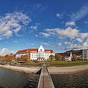 Hotel, Seehotel am Kaiserstrand, Lochau, Aussenaufnahme