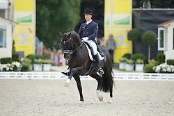 Rath Matthias Alexander, (GER), Totilas <br /> Grand Prix CDI4*<br /> CDIO Hagen 2015<br /> © Hippo Foto - Stefan Lafrentz<br /> 10/07/15