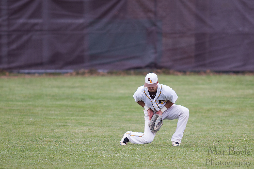 Rowan University Junior Outfielder Eric Perez (19) - Richard Stockton College Baseball at Rowan University at Rowan University in Glassboro, NJ on Thursday April 4, 2013. (photo / Mat Boyle)