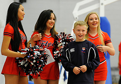 - Photo mandatory by-line: Joe Meredith/JMP - Mobile: 07966 386802 - 21/11/2014 - Sport - Basketball - Bristol - SGS Wise Campus - Bristol Flyers v Surrey United - British Basketball League
