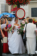 Old Town Square wedding. Warsaw, Poland.